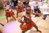 Шоу африканских барабанщиков в Москве