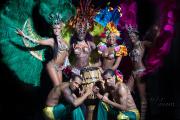 Бразильское шоу на праздник в Москве