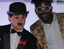 Двойник Чарли Чаплин в Москве