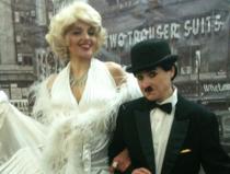 Двойник Чарли Чаплин заказать недорого в Москве