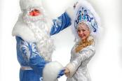 Дед Мороз и Снегурочка на Новый год недорого в Москве