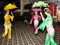 Китайский народный танец в Москве