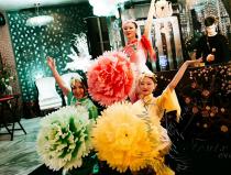 Китайский народный танец на мероприятие недорого в Москве