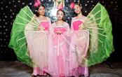 Китайский танец с веерами на праздник в Москве