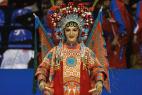 Китайские барабанщики на открытии VI международного культурного фестиваля Кунг-Фу Москва!