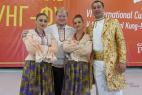 Народный ансамбль на открытии VI международного культурного фестиваля Кунг-Фу в Москве!