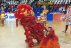 Театрализованное шоу китайских драконов на международном фестивале Кунг-Фу Москва 2016.