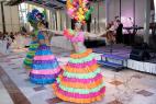 Бразильские танцы в Москве, на международном Евразийском форуме 2016 год.