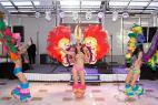 Бразильские танцы в Москве, на международном Евразийском форуме.