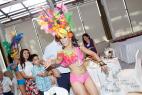 Бразильские танцы на праздник в Москве, на международном Евразийском форуме 2016 года.