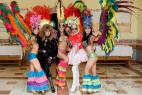 Бразильские танцы на праздник в Москве, на международном Евразийском форуме.