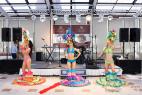 Танцевальный коллектив бразильских танцев в Москве, на международном Евразийском форуме 2016 года.