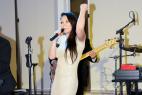 Музыкальная кавер-группа в Москве, на международном Евразийском форуме.