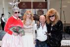 Шоу двойников Верки Сердючки и Аллы Пугачёвой на праздник в Москве. Международный Евразийский форум.