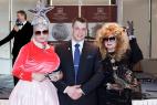 Двойники Верки Сердючки и Аллы Пугачёвой на праздник,свадьбу,корпоратив в Москве, на международном Евразийском форуме.