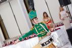 Ансамбль барабанщиц в Москве в велком зону.Международный Евразийский форум.