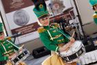 Шоу барабанщиц на открытие мероприятия в Москве. Международный Евразийский форум.