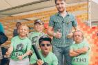 Маленькие артисты на международном кальянном фестивале в Москве.
