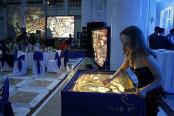 Заказать песочное шоу на юбилей в Москве