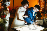 Заказать недорого песочное шоу на свадьбу в Москве