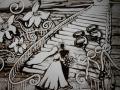 Песочное шоу на свадьбу в Москве