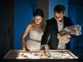 Песочное шоу заказать в Москве на свадьбу