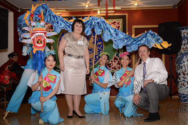 Китайский танец дракона в Москве