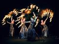 Фаер шоу на праздник в Москве