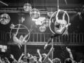 Шоу воздушных гимнастов на праздник в Москве