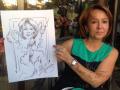 Заказать художника шаржиста на праздник в Москве