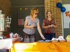 Чайная зона на детском празднике в день защиты детей 1 июня 2016 г.