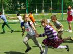 Веселые старты на День защиты детей в Москве. 1 июня 2016.