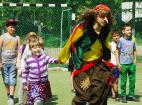 Веселые старты на День защиты детей. 1 июня 2016.
