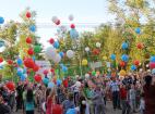 Флешмоб посвященный празднованию 71-й годовщины Победы в Великой отечественной войне в Москве.