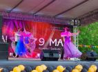Празднование 71-й годовщины Победы в Великой отечественной войне 2016 года - Москва. Профессиональный хореографический коллектив.