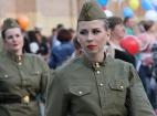 Празднование 71-й годовщины Победы в Великой отечественной войне - Москва.