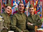 Военные песни на празднование 71 годовщины Победы в ВОВ. 9 мая 2016 г.