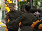 Профессиональные танцевальные коллективы на празднование дня Победы в Великой отечественной войне
