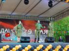 Солисты государственного академического хора на праздновании 71-й годовщины Победы в Великой отечественной войне - Москва.