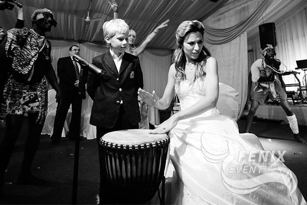Африканские барабанщики на свадьбу в Москве