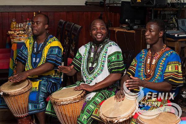 Шоу африканских барабанщиков заказать недорого Москва