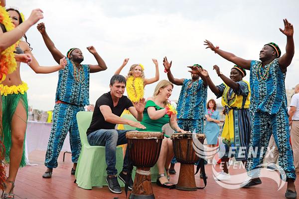 Заказать африканское шоу на праздник Москва