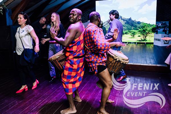 Заказать африканское шоу недорого Москва