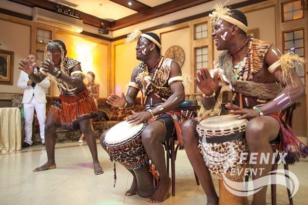 Африканское шоу на праздник недорого в Москве