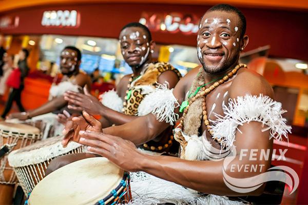 Заказать африканское шоу на праздник в Москве