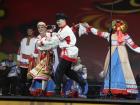Академический хор Русской песни Песни России на фестивале в честь празднования 70-летия дня победы в Москве