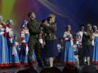 Академический хор русской песни Песни России на фестивале в честь празднования 70-летия дня Победы в ГЦКЗ Россия
