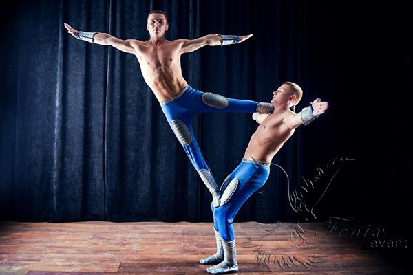 Акробатическое шоу Москва