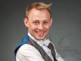 Андрей - яркий ведущий на праздник в Москве