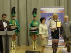 Мажоретки и барабанщицы на награждениии номинантов форум Здравница-2015